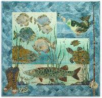 Something Fishy - Complete Quilt